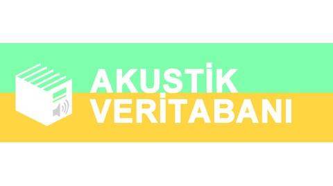 Akustik Veritabanı Yayında!