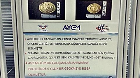 Marmaray'da Kaçan Fırsat!