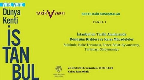 'Yine, Yeni: Dünya Kenti İstanbul' Sergisi Etkinlikleri
