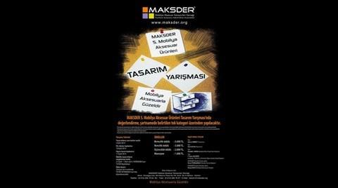 MAKSDER 5. Mobilya Aksesuar Ürünleri Tasarım Yarışması