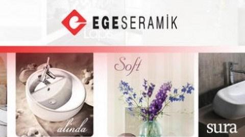 Ege Seramik'ten 'Mobil Aplikasyon' Uygulaması