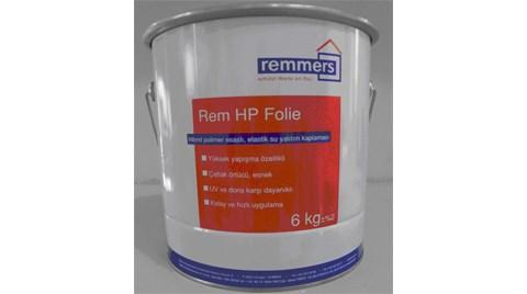 Yüksek Performanslı Elastik Su Yalıtım Malzemesi: Rem Hp Folie
