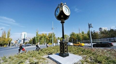 """Ankara Büyükşehir Belediyesi'nden """"Saat"""" Seferberliği!"""