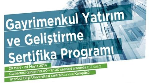 Gayrimenkul Yatırım ve Geliştirme Sertifika Programı