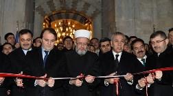 Restore Edilen Mihrimah Sultan Camisi'ni Bülent Arınç Açtı