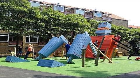 Çocukların Hayal Gücüyle Şekillenen Parklar!