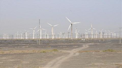Çeşme'de Rüzgar Santraline Karşı Eylem Yaptılar