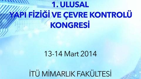 1. Ulusal Yapı Fiziği ve Çevre Kontrolü Kongresi