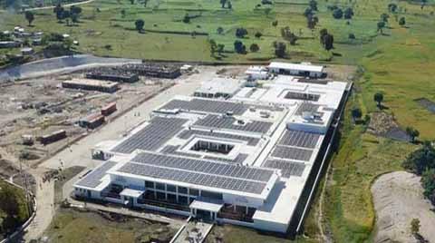 Güneş Enerjili En Büyük Hastane