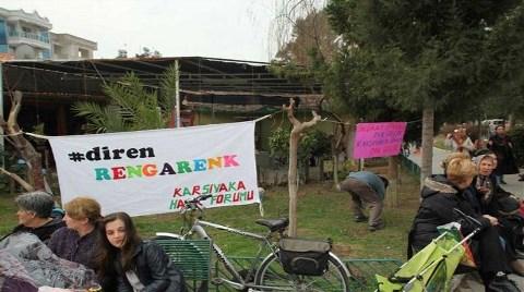 'Parkıma, Yeşilime, Ağacıma Dokunma'