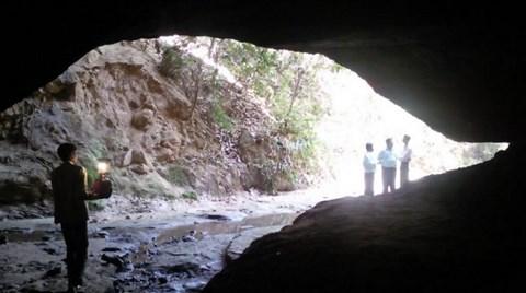 Maden Kutsal Mağarayı Çökertti
