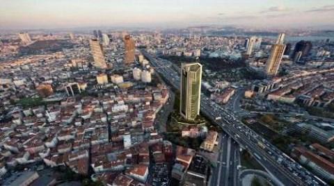Mecidiyeköy'deki Son Boş Araziye de Rezidans!