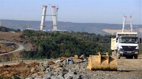İşte 3. Boğaz Köprüsü'nden Son Görüntüler!