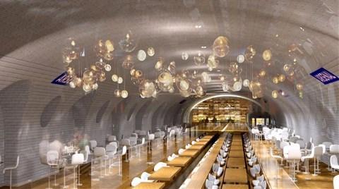 Paris'in Terk Edilmiş Metro İstasyonları İşte Böyle Dönüştürülecek!
