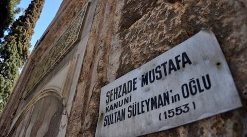 Şehzade Mustafa'nın Türbesi Restorasyonda