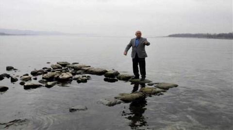 Sapanca Gölü'nde Tarihi Kalıntı