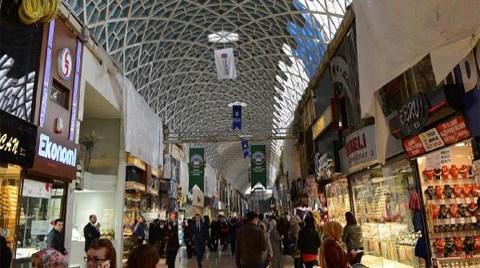 Bursa'da Kapalı Çarşı Yenileniyor