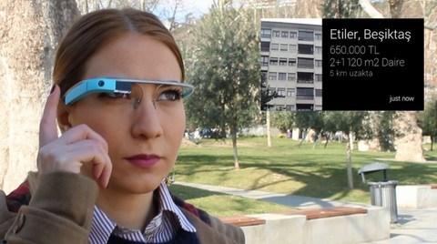 Google Glass'a Özel Emlak Uygulaması