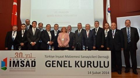 İnşaat Malzemesinde İlk Sanayi Endeksi Türkiye İMSAD'dan