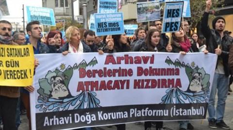 Arhavi'nin Dereleri İstanbul'a Aktı