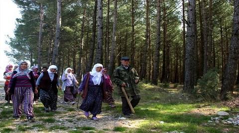 """Köylülerden """"Orman"""" Nöbeti"""
