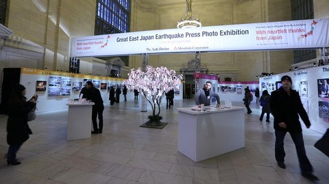 Büyük Doğu Japonya Depremi New York'ta