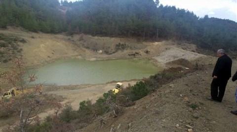 Gölet Yapıldı Ama Su Tutmuyor