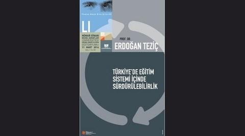 """""""Türkiye'de Eğitim Sistemi İçinde Sürdürülebilirlik"""""""