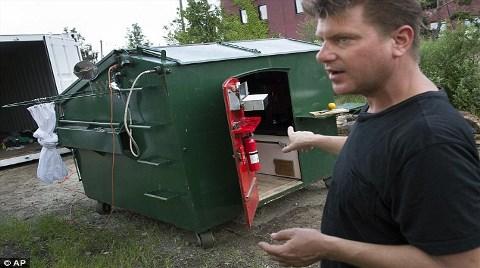 Çöp Konteynerinden Ev Tasarlamak!