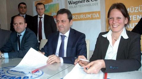 Wagner Doğu Anadolu'da Güneşten Elektrik Üretecek