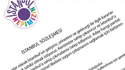 Bu Adaylar 'İstanbul Sözleşmesi'ni İmzaladı