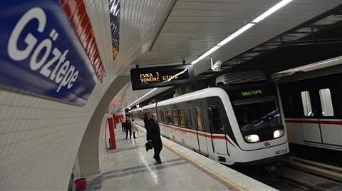 İzmir Metrosu Göztepe'ye Kadar Ulaştı
