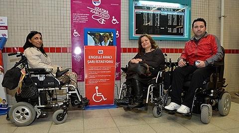 'Engelsiz İzmir'e Bir Adım da Metro İstasyonlarından