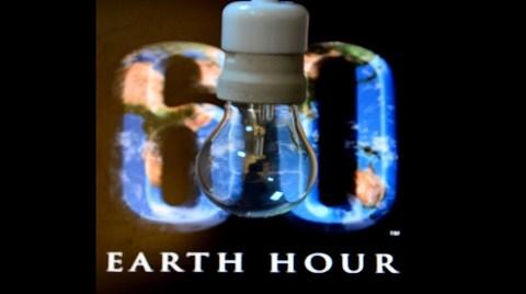 """Işıklar """"Dünya Saati"""" için Kapanacak"""