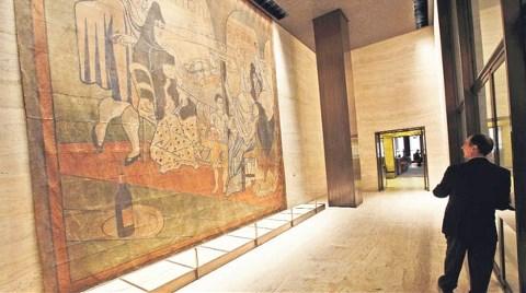 New York'lu Müteahhit Picasso Perdesine Karşı