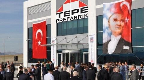 Tepe Prefabrik'e Yeni Üretim Tesisi