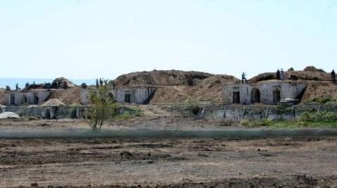 Tarihi Tabya'daki Çalışmalar Yeniden Başladı