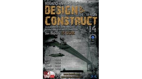 Design & Construct 2014 Uluslararası Çelik Köprü Yarışması