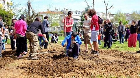 Moda'da Gezi Bostanı Açıldı