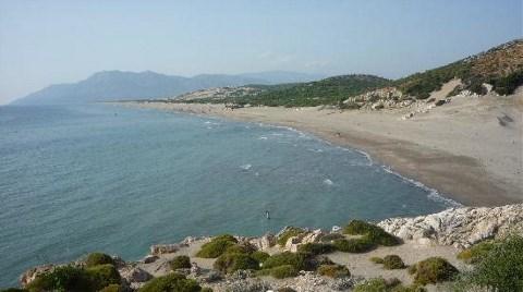 Dünyaca Ünlü Kumsala Büfeci İzniyle Sahil Tesisi!