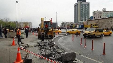 Taksim Meydanı'nda İnşaat Yeniden Başladı!
