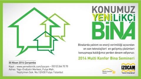 Multi Konfor Bina Semineri 2014