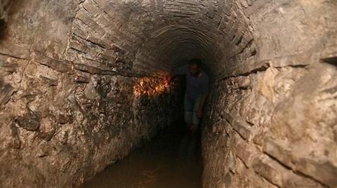 2 Bin 500 Yıllık Tünel Ziyarete Açılıyor!