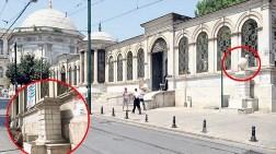 Çemberlitaş'taki Tarihi Küre Kayboldu