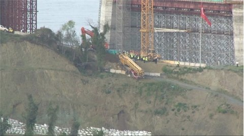 3. Köprü İnşaatında Korkutan Kaza