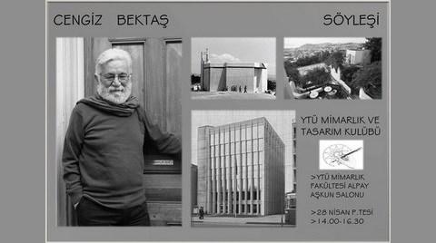 Cengiz Bektaş YTÜ'ye Konuk Oluyor