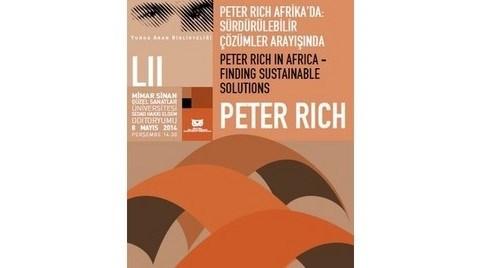 """""""Peter Rich Afrika'da: Sürdürülebilir Çözümler Arayışında"""""""