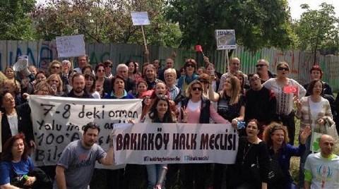 Ataköy'de Yeşil Alanın İmara Açılmasına Tepki