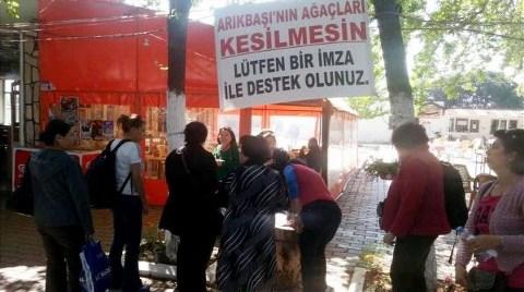 İzmir'de Asırlık Ağaçlar için Kampanya!