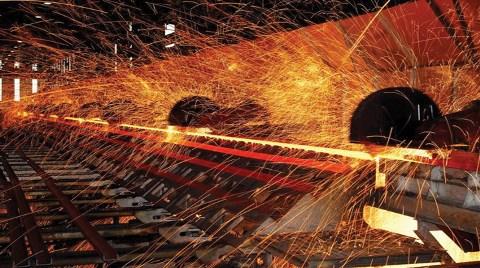 Dünyada Çelik Üretimi Arttı